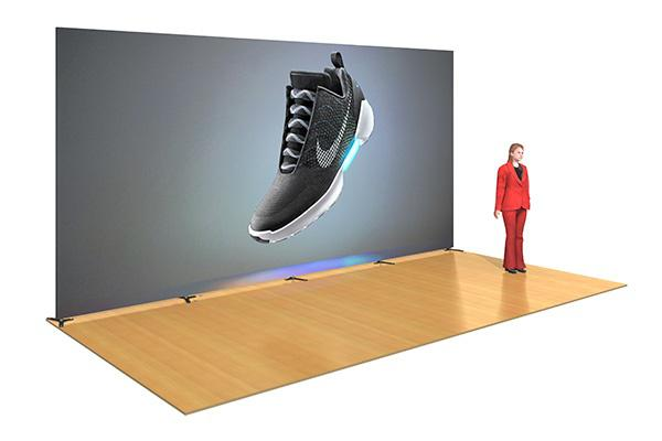 10x20 Rental Wall Graphic Step And Repteat Banner Red