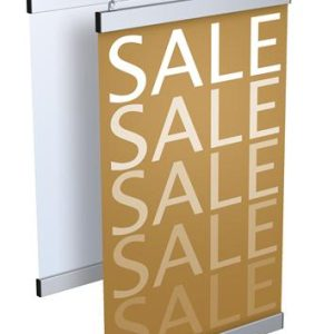 Rental Hangingsign Slimline