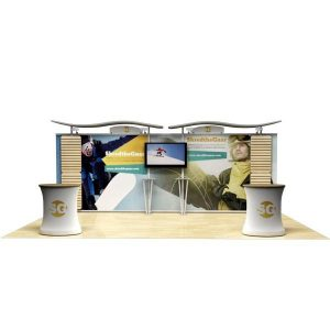10x20 Expo Booth Rental