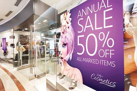 Retail Shops Window Graphics DC