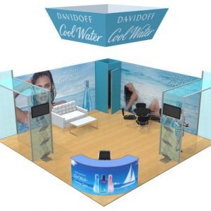 Rental 20x20 Trade Show Booth