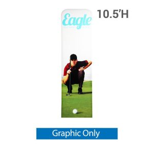 EZ Extend 2 ft. x 10.5 ft. - Single-Sided Graphic Only (w/ Black Back Fabric)