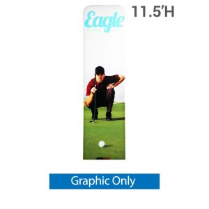 EZ Extend 2 ft. x 11.5 ft. - Single-Sided Graphic Only (w/ Black Back Fabric)