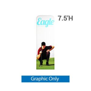 EZ Extend 2 ft. x 7.5 ft. - Single-Sided Graphic Only (w/ Black Back Fabric)