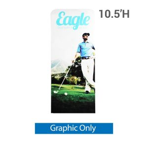 EZ Extend 3 ft. x 10.5 ft. - Single-Sided Graphic Only (w/ Black Back Fabric)