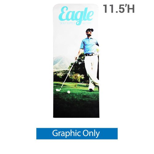 EZ Extend 3 ft. x 11.5 ft. - Single-Sided Graphic Only (w/ Black Back Fabric)