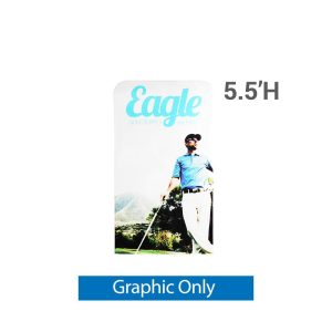 EZ Extend 3 ft. x 5.5 ft. - Single-Sided Graphic Only (w/ White Back Fabric)