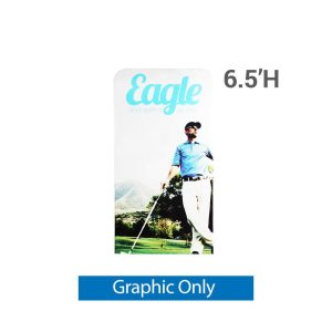 EZ Extend 3 ft. x 6.5 ft. - Single-Sided Graphic Only (w/ White Back Fabric)