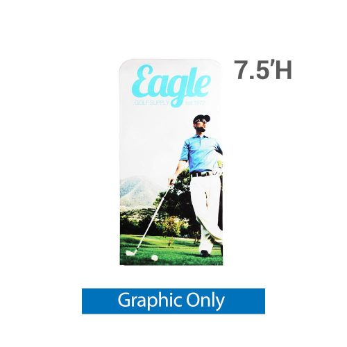EZ Extend 3 ft. x 7.5 ft. - Single-Sided Graphic Only (w/ Black Back Fabric)