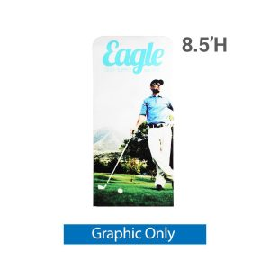 EZ Extend 3 ft. x 8.5 ft. - Single-Sided Graphic Only (w/ Black Back Fabric)