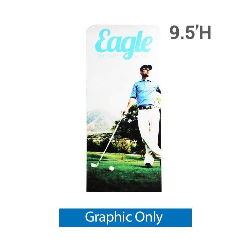 EZ Extend 3 ft. x 9.5 ft. - Single-Sided Graphic Only (w/ White Back Fabric)