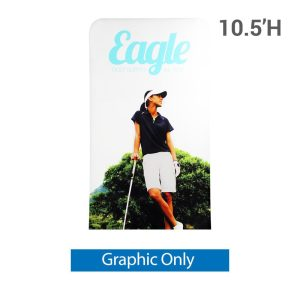 EZ Extend 4 ft. x 10.5 ft. - Single-Sided Graphic Only (w/ White Back Fabric)