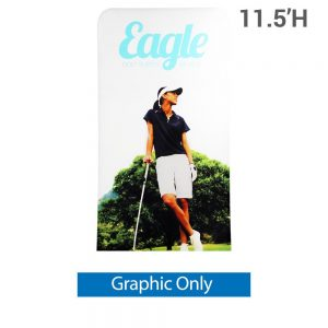 EZ Extend 4 ft. x 11.5 ft. - Single-Sided Graphic Only (w/ Black Back Fabric)
