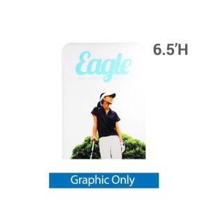 EZ Extend 4 ft. x 6.5 ft. - Single-Sided Graphic Only (w/ White Back Fabric)