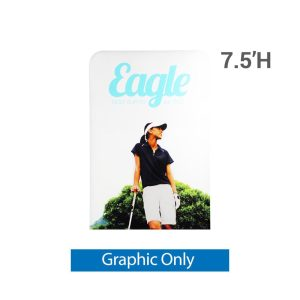 EZ Extend 4 ft. x 7.5 ft. - Single-Sided Graphic Only (w/ White Back Fabric)