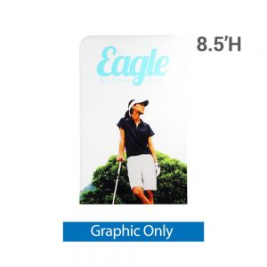 EZ Extend 4 ft. x 8.5 ft. - Single-Sided Graphic Only (w/ White Back Fabric)