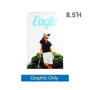 EZ Extend 4 ft. x 8.5 ft. - Single-Sided Graphic Only (w/ Black Back Fabric)