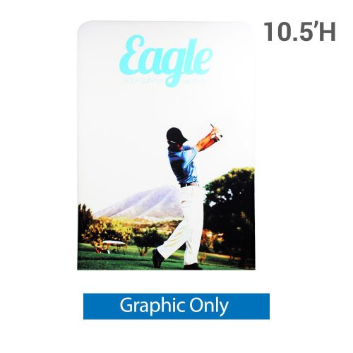 EZ Extend 5 ft. x 10.5 ft. - Single-Sided Graphic Only (w/ White Back Fabric)