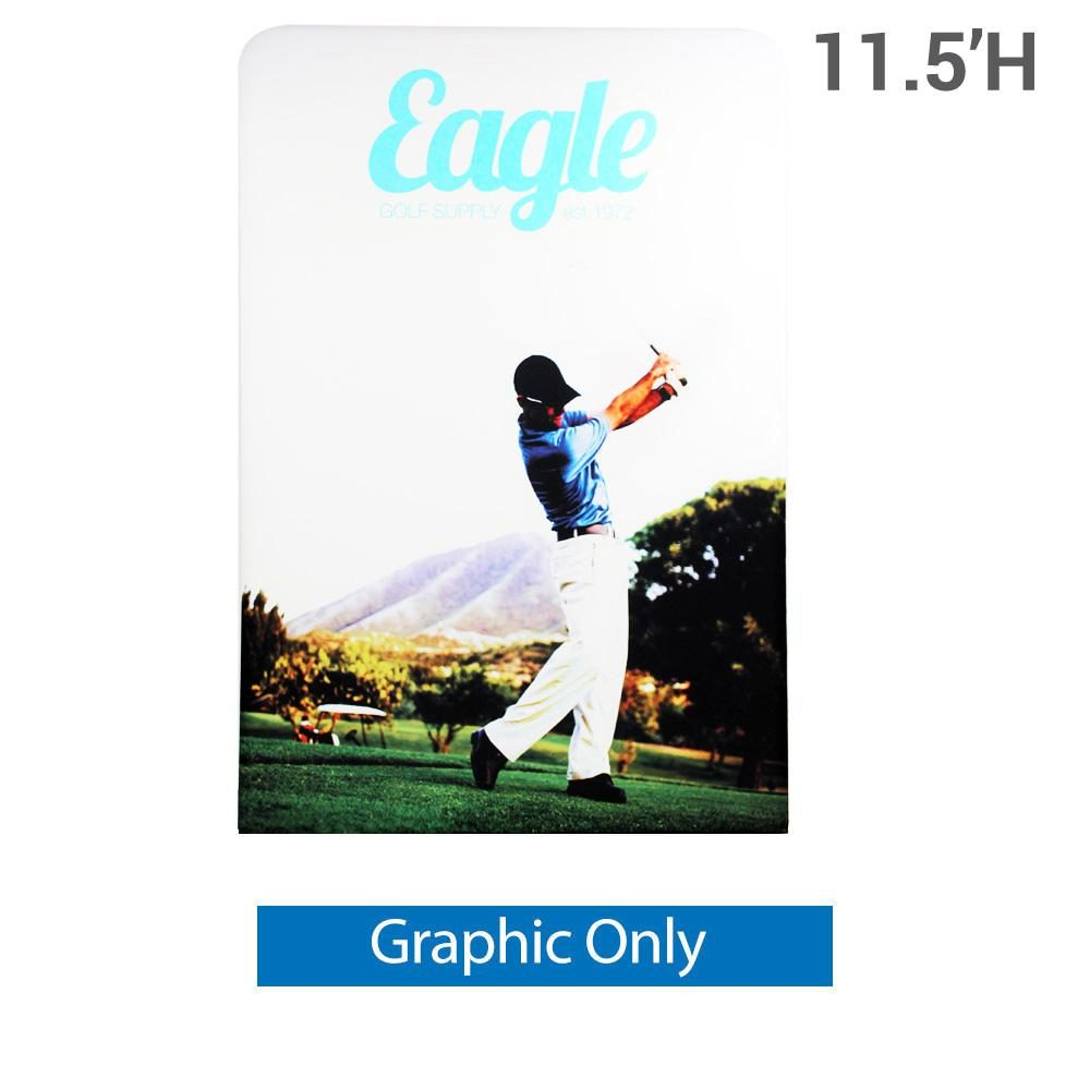 EZ Extend 5 ft. x 11.5 ft. - Single-Sided Graphic Only (w/ White Back Fabric)