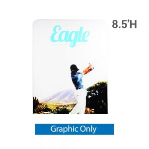 EZ Extend 5 ft. x 8.5 ft. - Single-Sided Graphic Only (w/ Black Back Fabric)