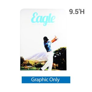 EZ Extend 5 ft. x 9.5 ft. - Single-Sided Graphic Only (w/ White Back Fabric)