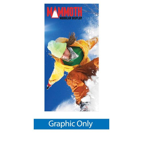 Mammoth 4 ft. - Single-Sided Graphic Only (Non-Backlit)