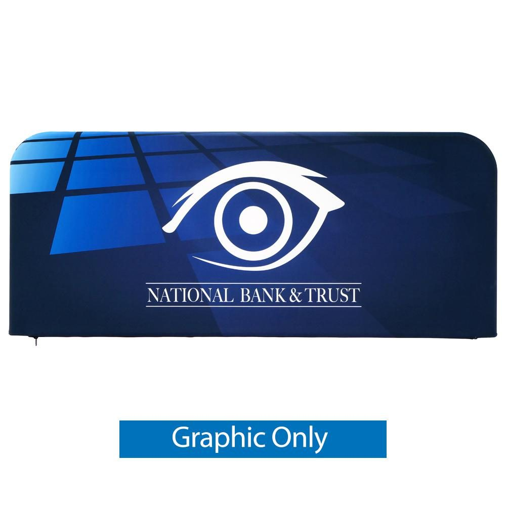EZ Barrier Large - Single-Sided Graphic Only (w/ Black Back Fabric)