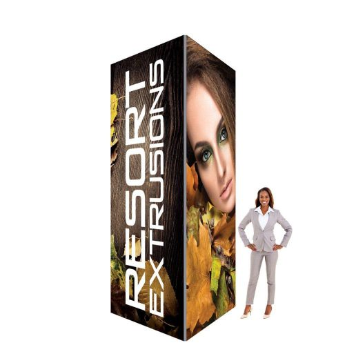 60D Big Sky Square Tower - 6'W x 12'H x 6'D (Stretch Graphic Package)