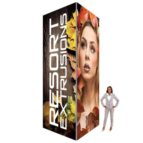60D Big Sky Square Tower - 6'W x 16'H x 6'D (Stretch Graphic Package)
