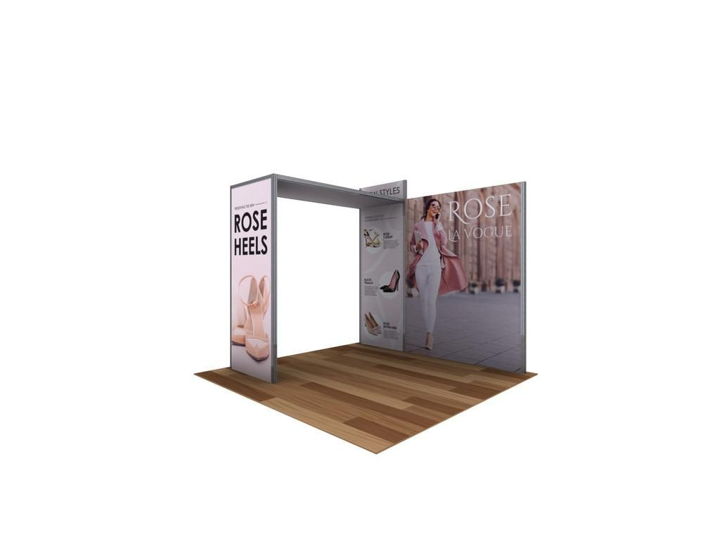10 ft rental trade show stand