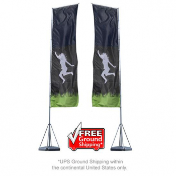 Mondo 23ft Flag Double Sided